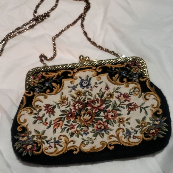 Vintage Walborg Tapestry Evening Purse by Walborg